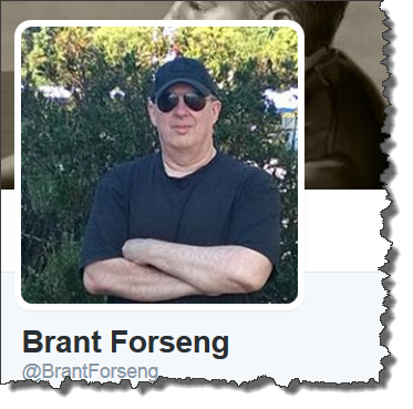 Brant Forseng Twiiter Pic 2015
