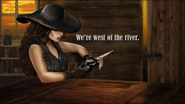 Lady Merreth in Western Watch Book Trailer Image 02