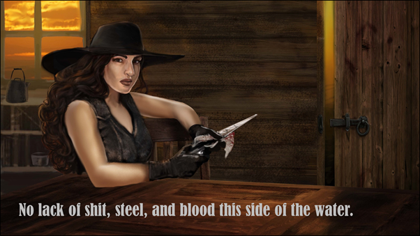 Lady Merreth in Western Watch Book Trailer Image 03