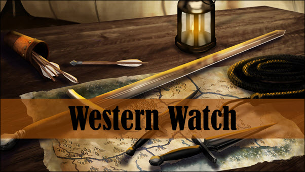 Lady Merreth in Western Watch Book Trailer Image 01