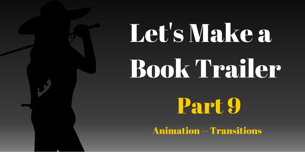 Let's Make a Book Trailer Part 9, Brant Forseng, @brantforseng