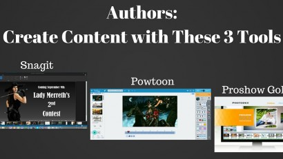 Author -- Create Content with These Three Tools