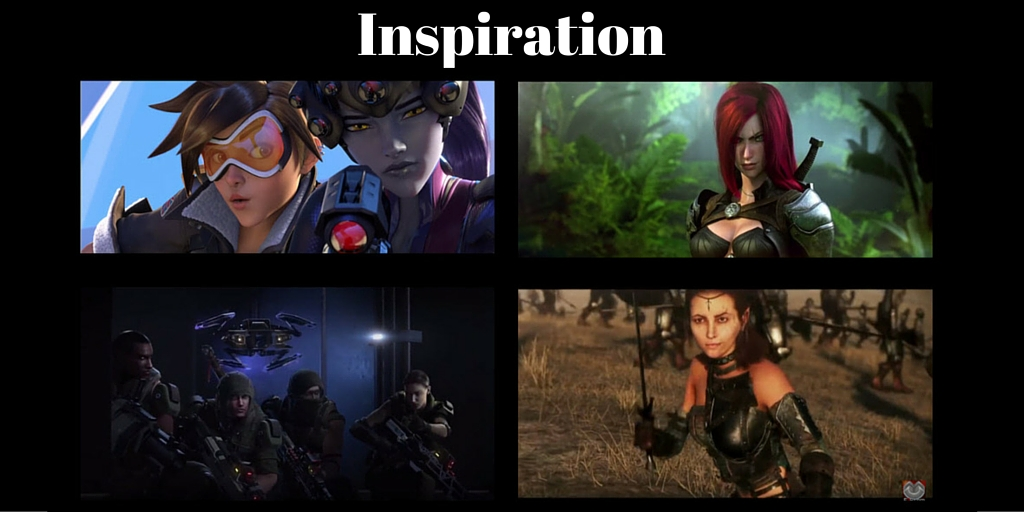 Inspiration From Cinematic Game Trailers