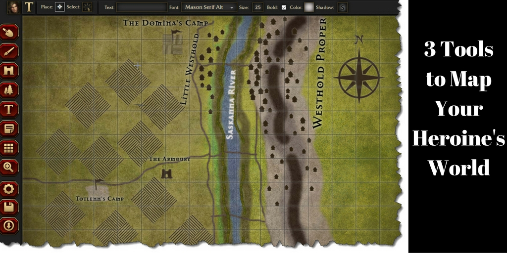 3 Tools to Map Your Heroine's World