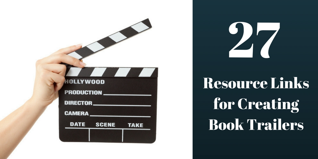 27 Resource Links for Book Trailers, Brant Forseng. @brantforseng