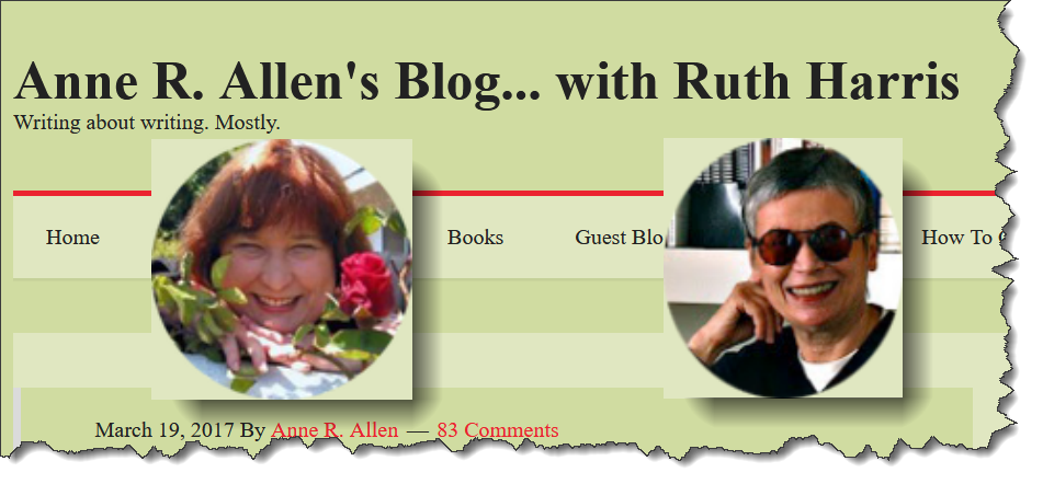 Anne R Allen's Blog ... with Ruth Harris