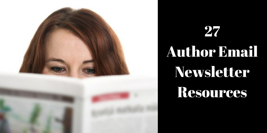 Here are 27 resource links for author email newsletters; how to get started, content ideas, and applications which can help, Brant Forseng, @brantforseng