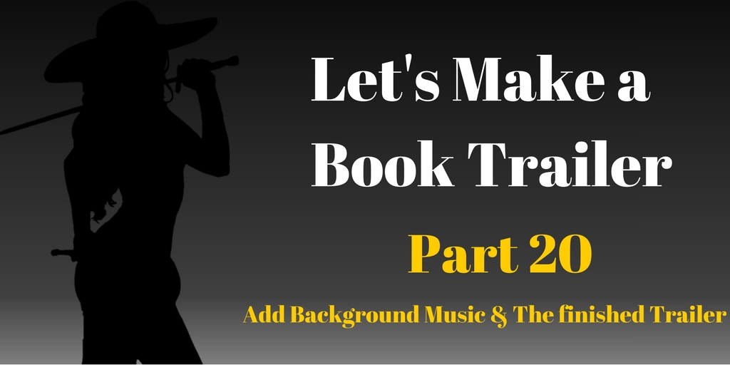 Let's Make a Book Trailer Part 20, Brant Forseng, @brantforseng