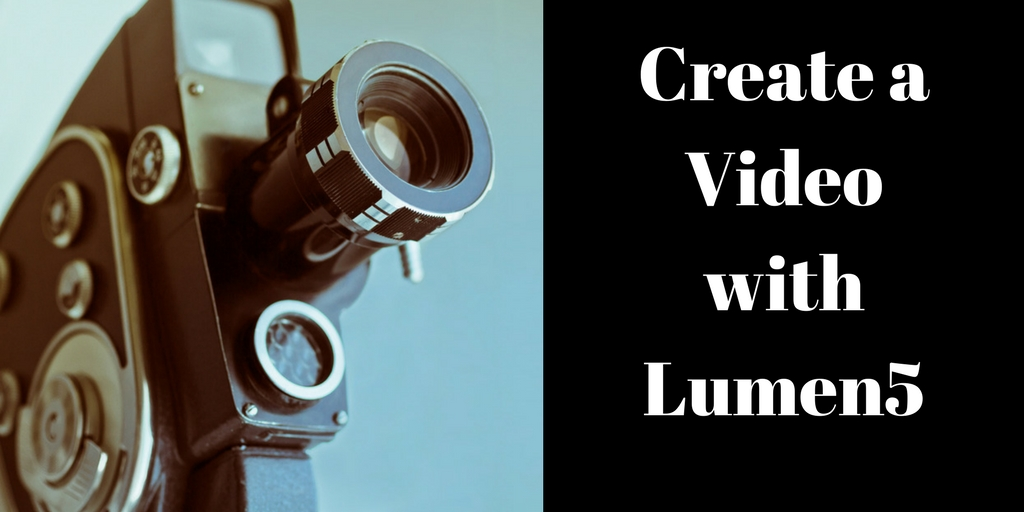Create a Video with Lumen5, Brant Forseng, @brantforseng