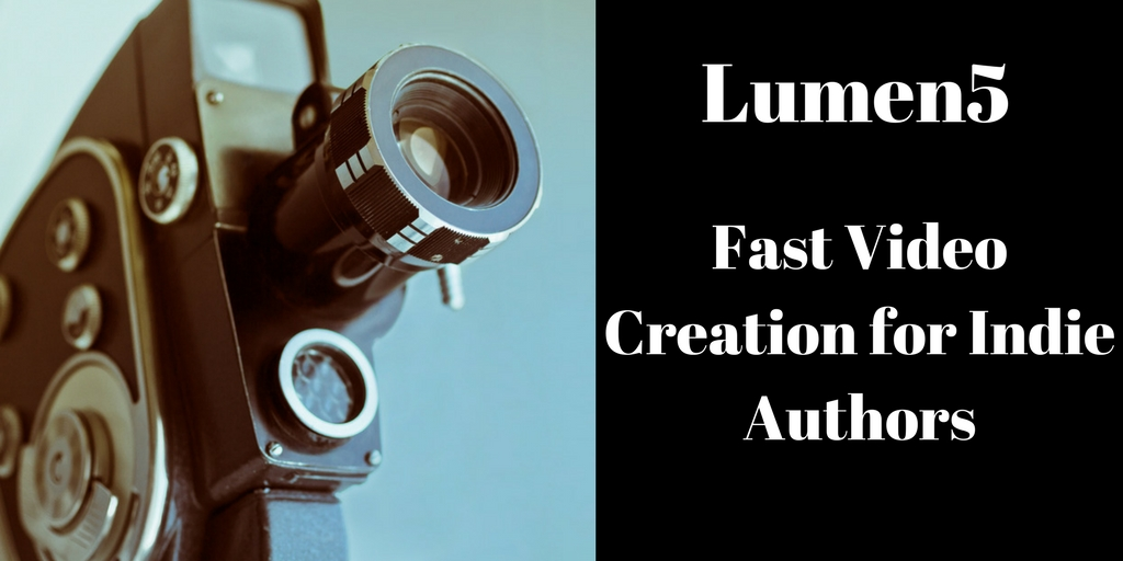 Lumen5 -- Fast Video Creation for Indie Authors, @branforseng, Brant Forseng