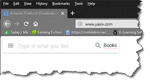 YASIV Search Bar, Brant Forseng, @brantforseng
