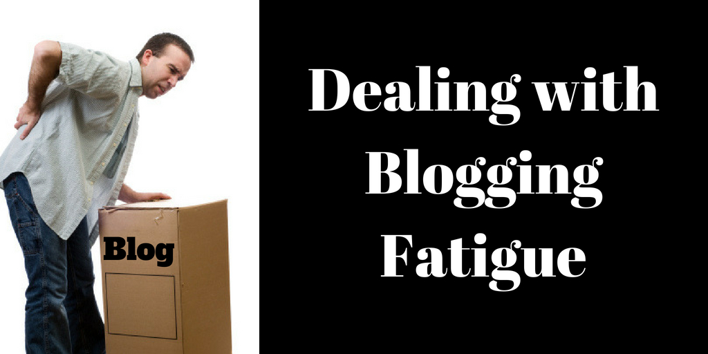 Dealing with Blogging Fatigue, Brant Forseng, @brantforseng