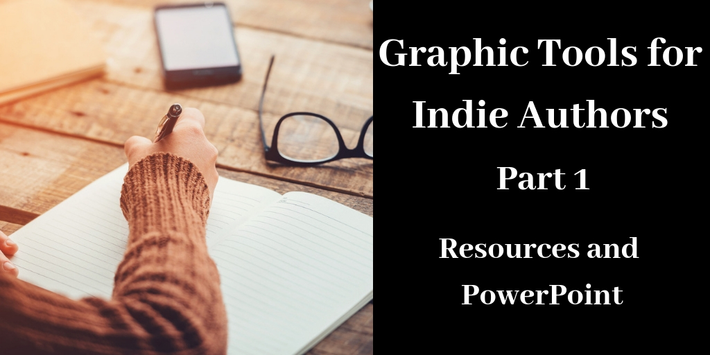 Graphic Tools for Indie Authors, @brantforseng, Brant Forseng