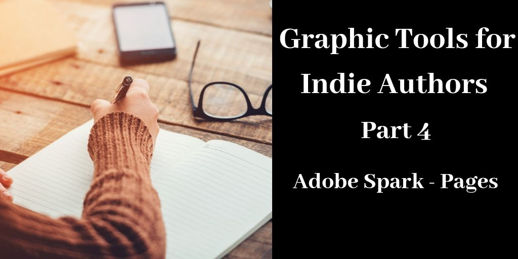 Graphic Tools for Indie Authors - Part 4, Brant Forseng, @brantforseng